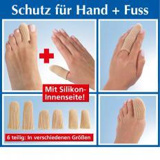 Capuchons pour doigts et orteils