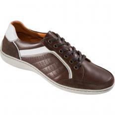 Sneakers sportifs en cuir
