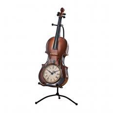 Horloge de table violon