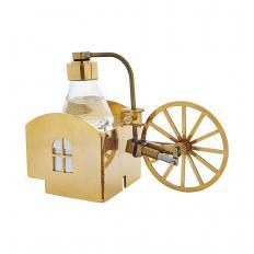 """Mini machine à vapeur plaquée or """"Kotten"""""""