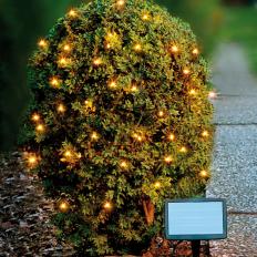 Guirlande lumineuse solaire à LED