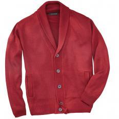 Veste en laine à col châle