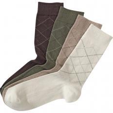 Chaussettes coton haute qualité par 8 paires