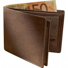 Porte-monnaie en cuir de buffle