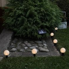 Guirlande solaire à LED