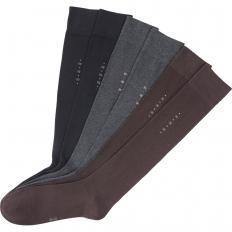 Chaussettes hautes en coton 6 paires