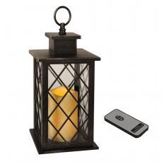 Lanterne LED avec télécommande