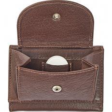 Mini porte-monnaie en cuir