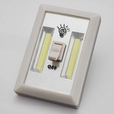 Lampe murale COB avec interrupteur Lot de 2