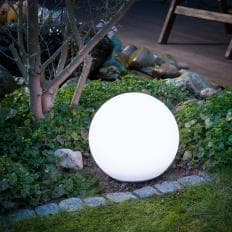 Boule lumineuse solaire