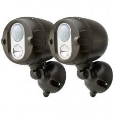 Projecteurs LED extérieurs en réseau radio Lot de 2