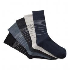 Lot de 5 paires de chaussettes confort
