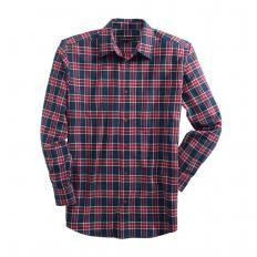 Chemise de flanelle à carreaux