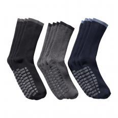 Chaussettes en tissu éponge à semelle antidérapante en lot de 4