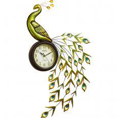 """Horloge murale  """"Paon"""""""