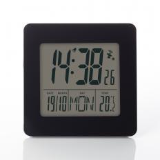 Réveil radio-piloté avec affichage de la température
