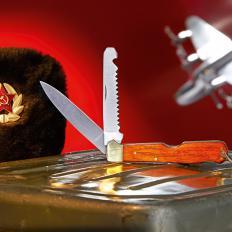 Le couteau des pilotes soviétiques