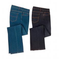 Jeans stretch pour homme lot de 2