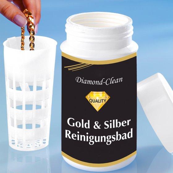 Bain de nettoyage pour bijoux en or et en argent