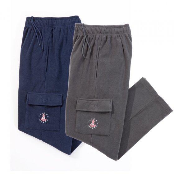 Pantalons en polaire par 2
