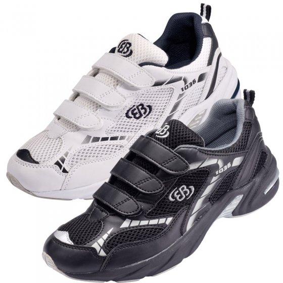 Chaussures sport á velc.,blanc