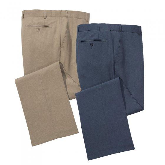 Lot de 2 pantalons de voyage 2 pantalons