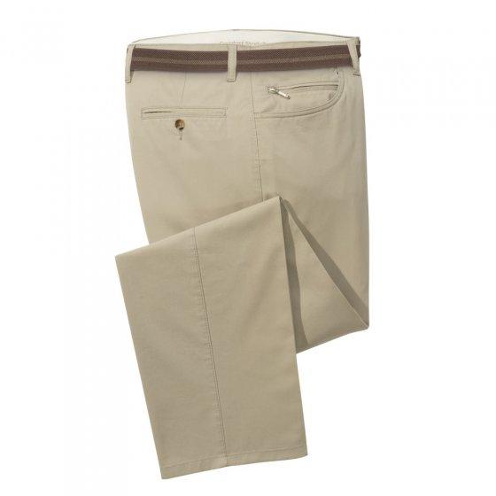 Pantalon léger en coton sans repassage