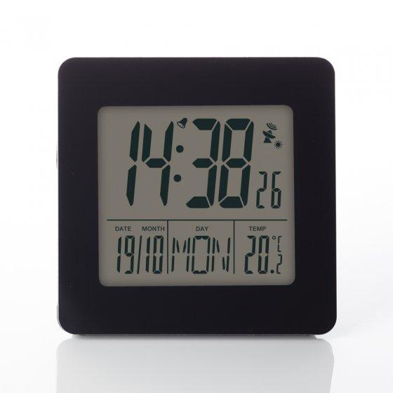Réveil radiopiloté avec affichage de la température