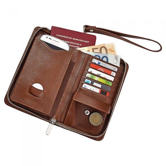 Pochette organiseur pour le téléphone mobile «4-en-1»