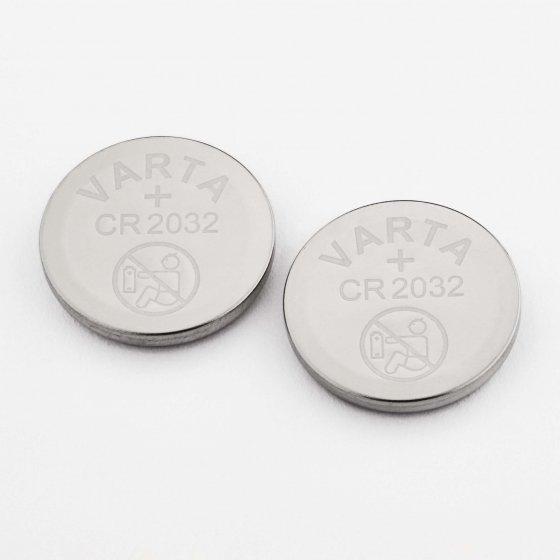 Piles bouton, lot de 2