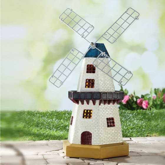 Lampe solaire moulin
