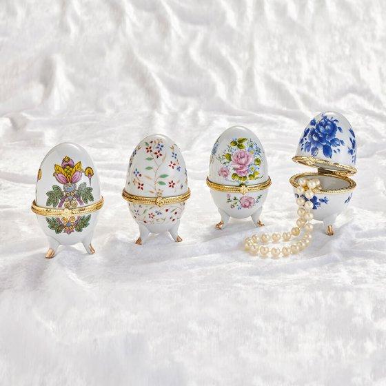 Œufs de porcelaine Lot de 4