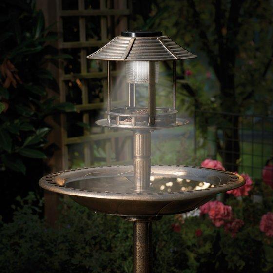 Vasque solaire pour oiseaux