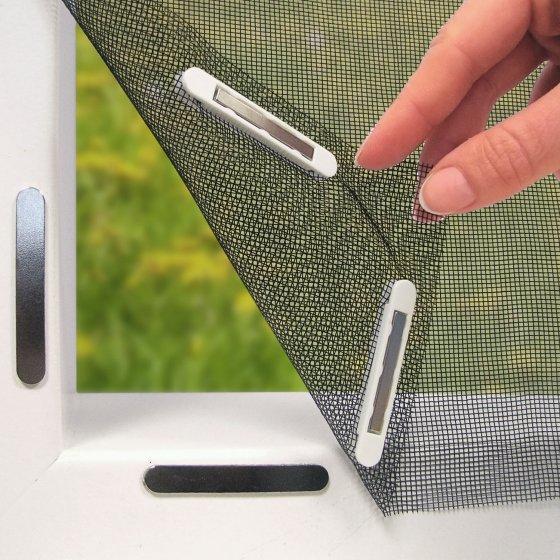 Moustiquaire magnétique pour fenêtre