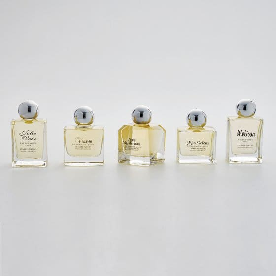 """Collection  """"Secrets de parfums"""""""