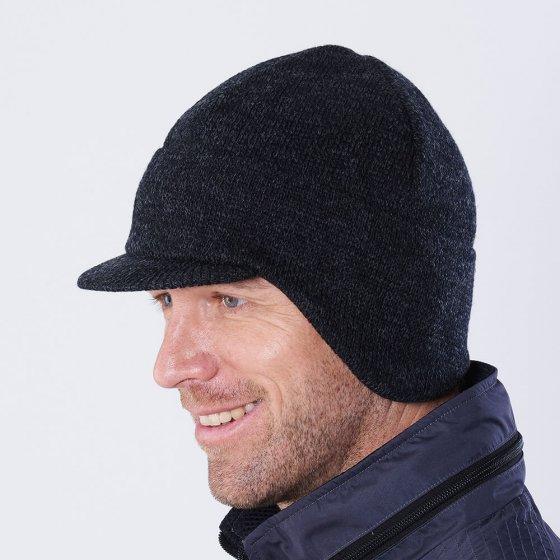 Casquette laine doublée de polaire