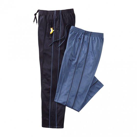 Pantalons de jogging thermiques Lot de 2  XXL (54/56) | Bleu-gris#Noir