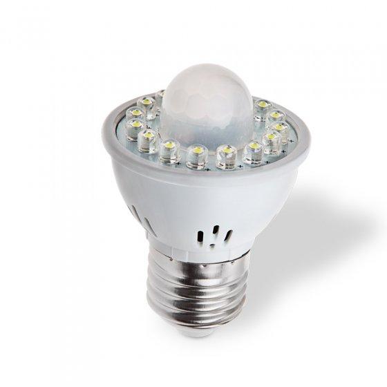 Ampoule LED à détecteur de mouvement
