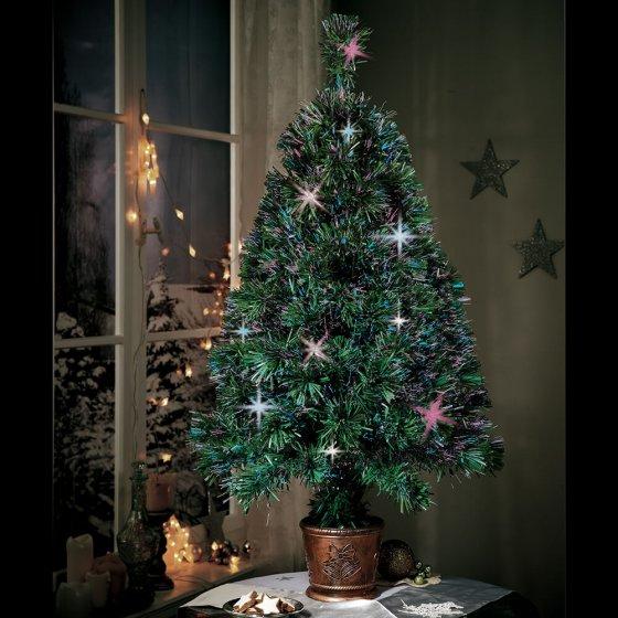 Sapin de Noël à couleur changeante