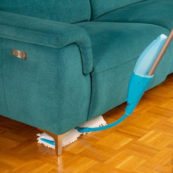Balai vaporisateur flexible