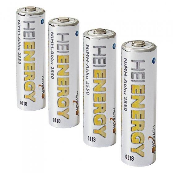 Lot de batteries préchargées