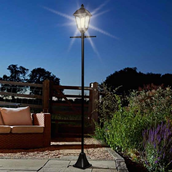 Lanterne solaire pour toute l'année