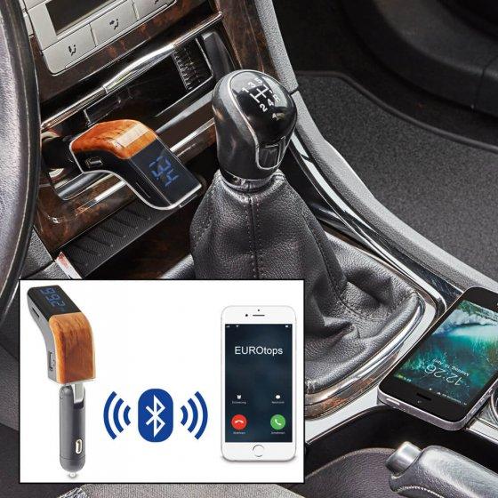 Transmetteur FM Bluetooth pour voiture