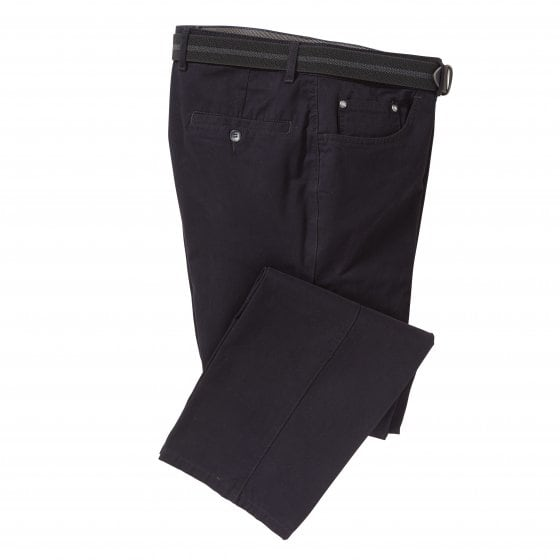 "Pantalon 5 poches  ""Nano Therm"" 27 | Bordeaux"
