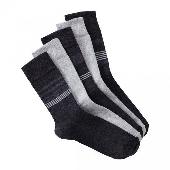 Chaussettes confort stretch Lot de 5