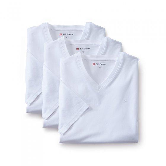 T-shirts stretch Par lot de 3 paires  XL | Blanc