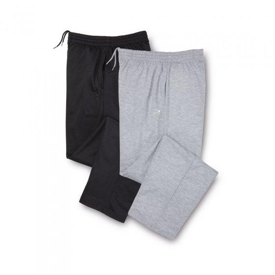 Pantalon de loisir léger Lot de 2  29 | Noir#Gris
