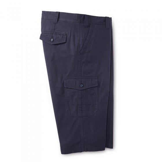 Pantalon cargo 3/4 en coton
