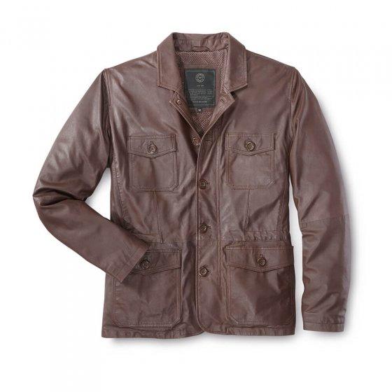 Veste légère en cuir nappalan