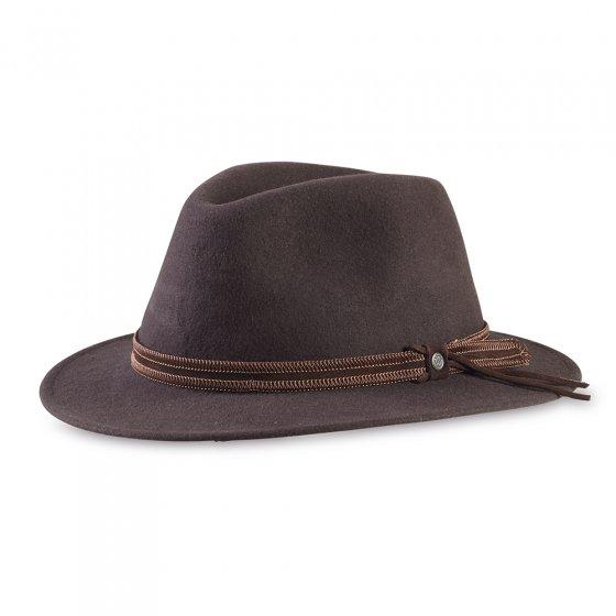 Chapeau en laine 57 | Marron